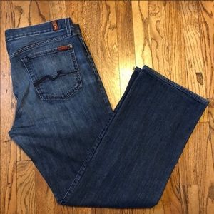7 For All Mankind Relaxed Straight Jean